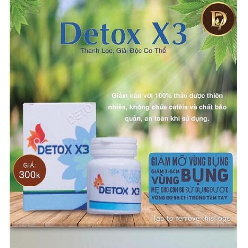Thảo Mộc Detox x3 Giảm Cân Thải Độc