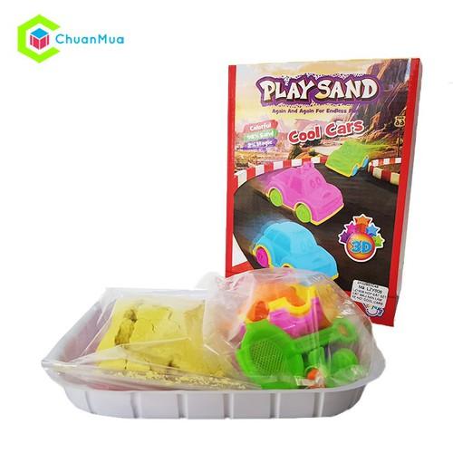 Bộ đồ chơi Play Sand Cát động lực cho bé Cát sinh học Cát vi sinh