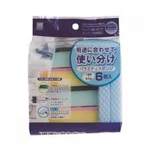 Set 6 miếng mút rửa bát - 5586760 , 12005494 , 15_12005494 , 40000 , Set-6-mieng-mut-rua-bat-15_12005494 , sendo.vn , Set 6 miếng mút rửa bát