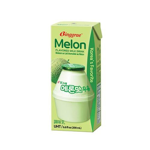 Sữa dưa lưới Binggrae Hàn Quốc hộp 200ml