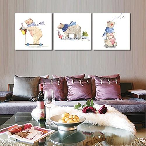 Tranh poster trang trí phòng khách
