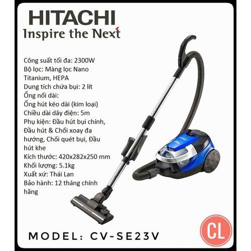 Máy hút bụi Hitachi 2300W - 5587267 , 12006167 , 15_12006167 , 5118000 , May-hut-bui-Hitachi-2300W-15_12006167 , sendo.vn , Máy hút bụi Hitachi 2300W