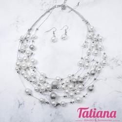 Bộ Trang Sức Nữ Chuỗi Ngọc Trai - Tatiana - YH2183