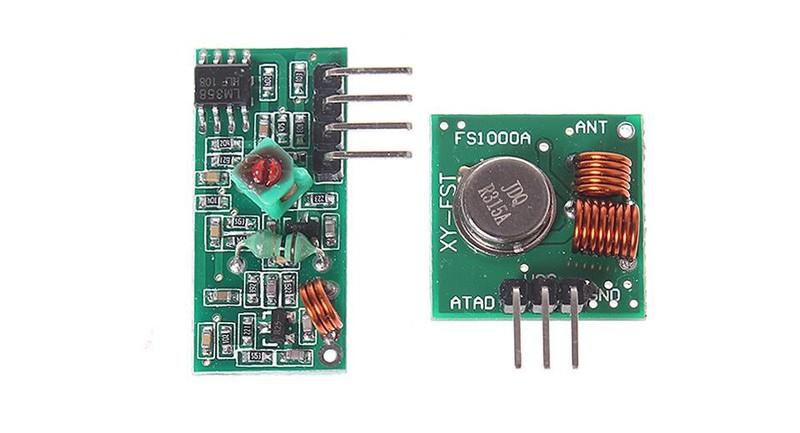 Module Thu phát không dây RF 315MHz 3