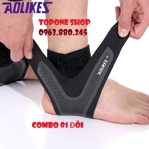 Bộ băng bảo vệ cổ chân, mắt cá, khớp cổ chân Aolikes - 5594778 , 12015800 , 15_12015800 , 427000 , Bo-bang-bao-ve-co-chan-mat-ca-khop-co-chan-Aolikes-15_12015800 , sendo.vn , Bộ băng bảo vệ cổ chân, mắt cá, khớp cổ chân Aolikes