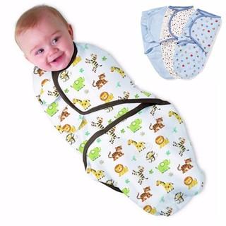 Khăn quấn ủ - chăn ủ- ủ kén cotton cho bé sơ sinh 0-3M