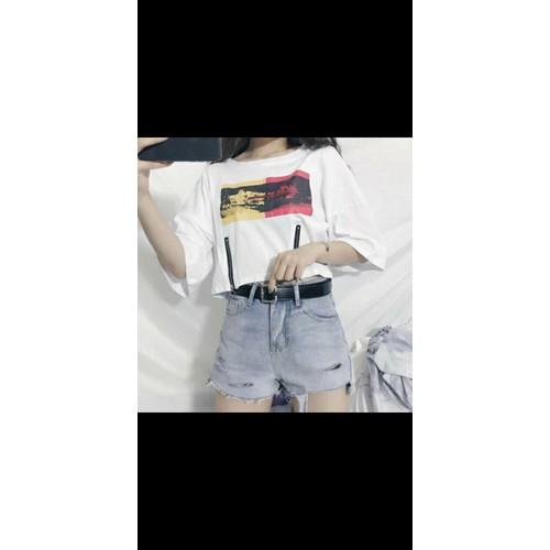 áo thun croptop