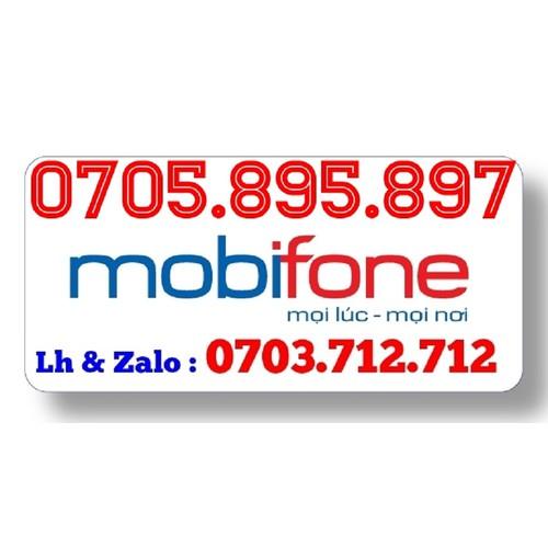 Sim Mobifone  0705.895.897