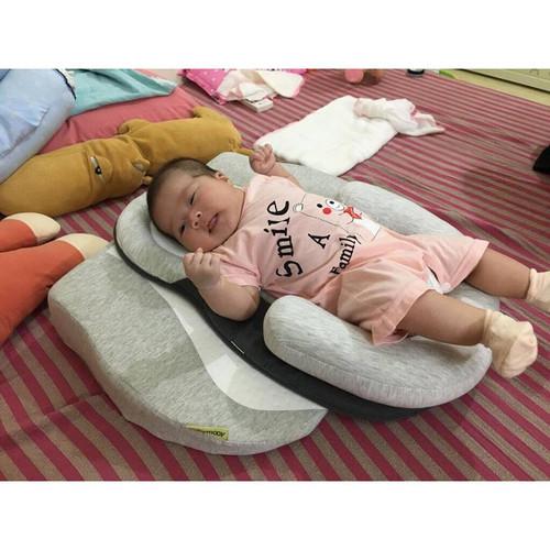 [COMBO] Gối chống trào ngược Babymoov và nệm ngủ đúng tư thế JJovce