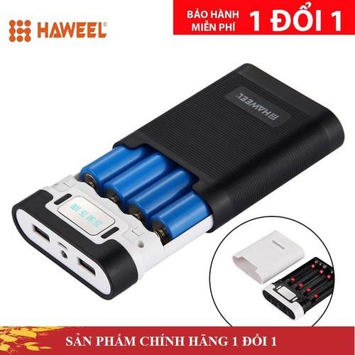 Box sạc pin dự phòng Haweel sử dụng 04 viên pin 18650, box sạc dùng cell pin laptop - 5733902 , 12188625 , 15_12188625 , 200000 , Box-sac-pin-du-phong-Haweel-su-dung-04-vien-pin-18650-box-sac-dung-cell-pin-laptop-15_12188625 , sendo.vn , Box sạc pin dự phòng Haweel sử dụng 04 viên pin 18650, box sạc dùng cell pin laptop
