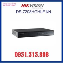 Đầu ghi hình HIKVISION 8 kênh DS-7208HGHI-F1-N