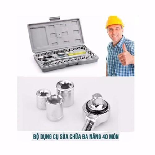 hộp đồ nghề sửa xe 40 món