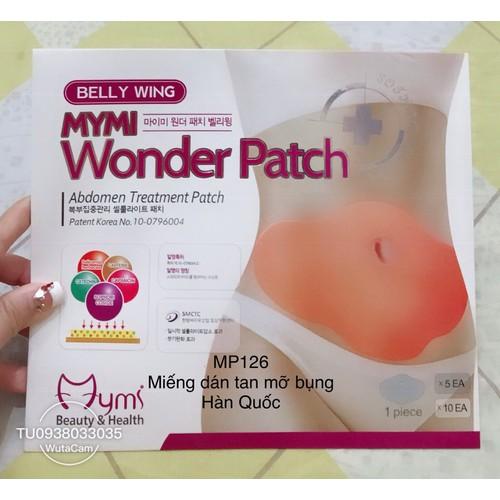 Miếng dán tan mỡ bụng Wonder Patch Hàn Quốc - mp126