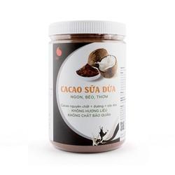 [KÈM QUÀ] Cacao sữa dừa thơm ngon, dễ bảo quản Light Cacao - 550g