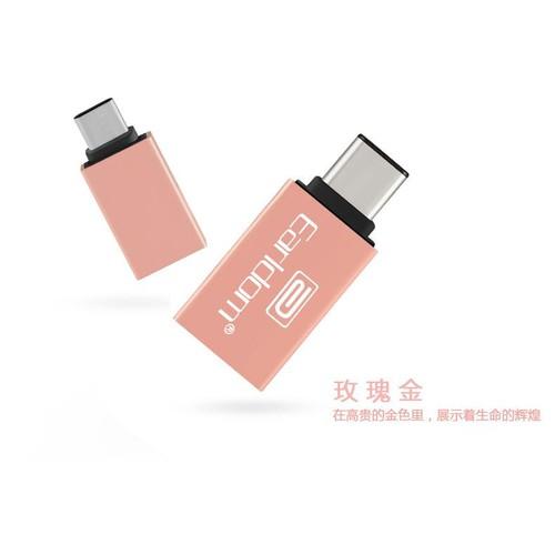 Đầu chuyển đổi USB OTG Earldom ET-OT06 - 2 cổng USB Type-C và USB 3.0