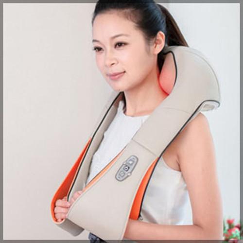 Đai massage vai gáy giảm đau chính hãng Hàn Quốc - khoác vai 16 bi