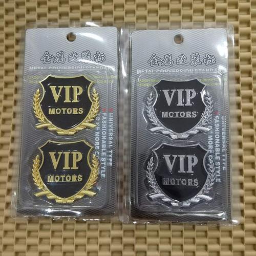 Bộ 2 huy hiệu logo VIP  nổi 3D gắn xe ô tô - 5723858 , 12174571 , 15_12174571 , 68000 , Bo-2-huy-hieu-logo-VIP-noi-3D-gan-xe-o-to-15_12174571 , sendo.vn , Bộ 2 huy hiệu logo VIP  nổi 3D gắn xe ô tô