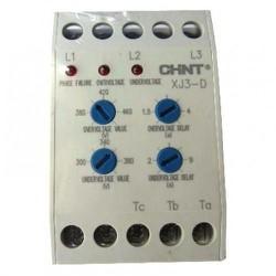 Rơle bảo vệ điện áp 3 pha Chint XJ3-D