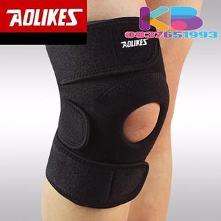 Băng gối thể thao, Băng bảo vệ đầu gối tập gym - QC- Bó gối AOLIKES 7616 -5 thumbnail