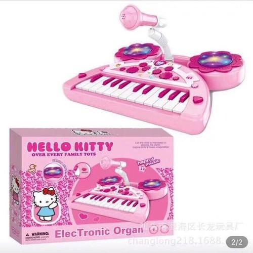 ĐÀN PIANO ĐIỆN TỬ VỚI MICROPHONE HELLO KITTY-CÔNG CHÚA ELSA - 5729133 , 12181645 , 15_12181645 , 299000 , DAN-PIANO-DIEN-TU-VOI-MICROPHONE-HELLO-KITTY-CONG-CHUA-ELSA-15_12181645 , sendo.vn , ĐÀN PIANO ĐIỆN TỬ VỚI MICROPHONE HELLO KITTY-CÔNG CHÚA ELSA