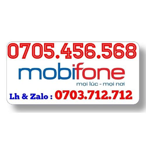 Sim Mobifone lộc phát 0705.456.568