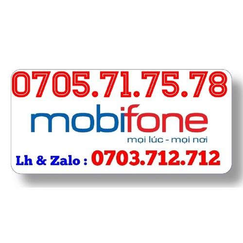 Sim Mobifone ông địa 0705.71.75.78