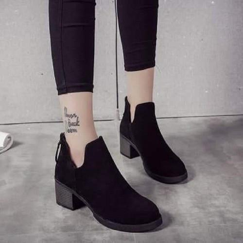 Giày boot nữ cổ thấp, giày boot nữ tăng chiều cao, bốt nữ - 4437666 , 12174958 , 15_12174958 , 300000 , Giay-boot-nu-co-thap-giay-boot-nu-tang-chieu-cao-bot-nu-15_12174958 , sendo.vn , Giày boot nữ cổ thấp, giày boot nữ tăng chiều cao, bốt nữ