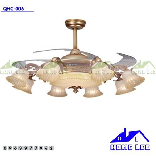 Quạt trần đèn cao cấp QQHC-006