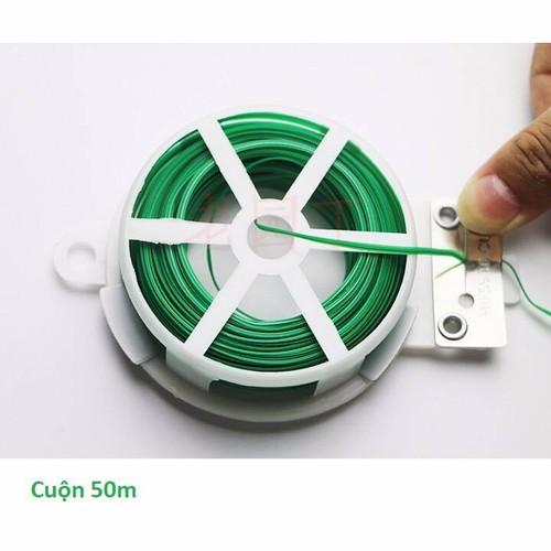 Cuộn dây cố định lan có dây cắt sẵn tiện lợi 50m cuộn dây cố định lan có dây cắt sẵn tiện lợi 50m cuộn dây cố định lan có dây cắt sẵn tiện lợi 50m