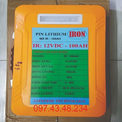 PIN LITHIUM 12V-100AH - 5749050 , 12206540 , 15_12206540 , 3400000 , PIN-LITHIUM-12V-100AH-15_12206540 , sendo.vn , PIN LITHIUM 12V-100AH