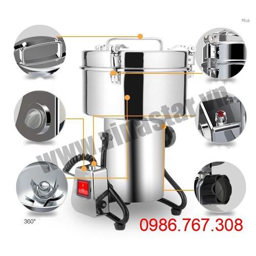 Máy nghiền bột, máy xay thuốc bắc 4.5kg - 5736568 , 12191614 , 15_12191614 , 10000000 , May-nghien-bot-may-xay-thuoc-bac-4.5kg-15_12191614 , sendo.vn , Máy nghiền bột, máy xay thuốc bắc 4.5kg