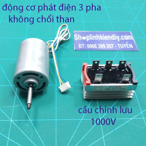 động cơ phát điện mini
