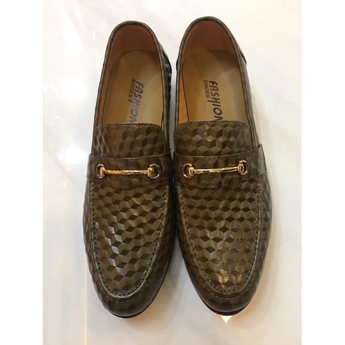 Giày lười nam in 3D GN19