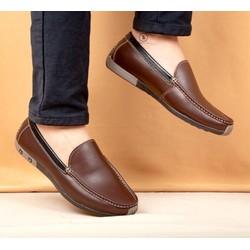 Giày mọi nam da bò thật GN53