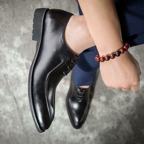 Giày tây nam da bò thật GN51