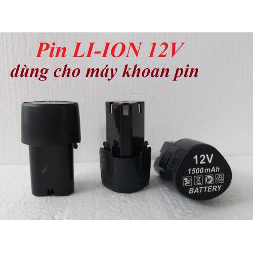 Pin LI-ION 12v cho máy khoan pin - Pin 12v cho máy khoan pin