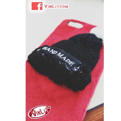 Ốp lưng Iphone 6 Plus | 6s Plus nón len Handmade 3D