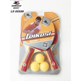 Bộ 2 vợt bóng bàn cao cấp LX-2222B| Vợt chính hãng Leikesi - vợt LX-2222