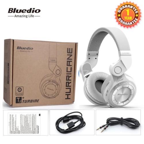 Tai Nghe Bluetooth Bluedio T2+ Trắng - Hàng Nhập Khẩu