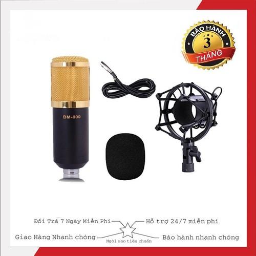 Micro Thu Âm Bm800 Giá Rẻ, Hát live