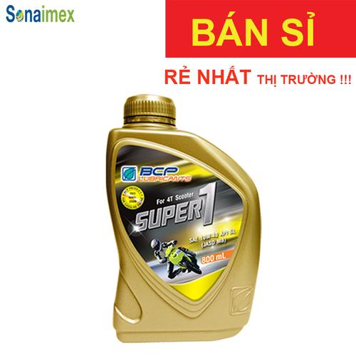 [BÁN SỈ] Thùng  12 Nhớt Xe Tay GA 10W40 SL  0.8L Thái Lan