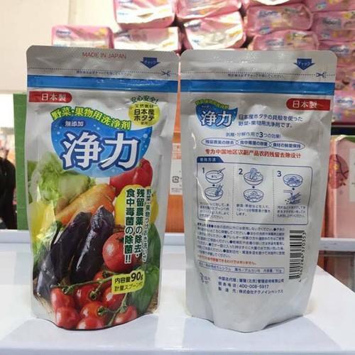 Bột rửa rau củ Nhật
