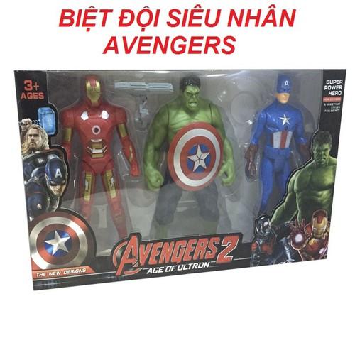 Bộ đồ chơi biệt đội siêu anh hùng AVENGERS | Đồ Chơi Cho Bé Trai
