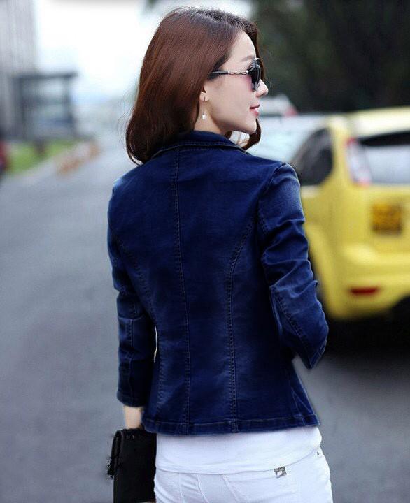 Áo khoác jean nữ cá tính cực xinh BY1068 7