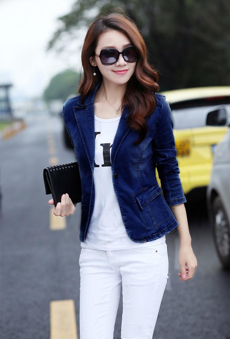 Áo khoác jean nữ cá tính cực xinh BY1068 8