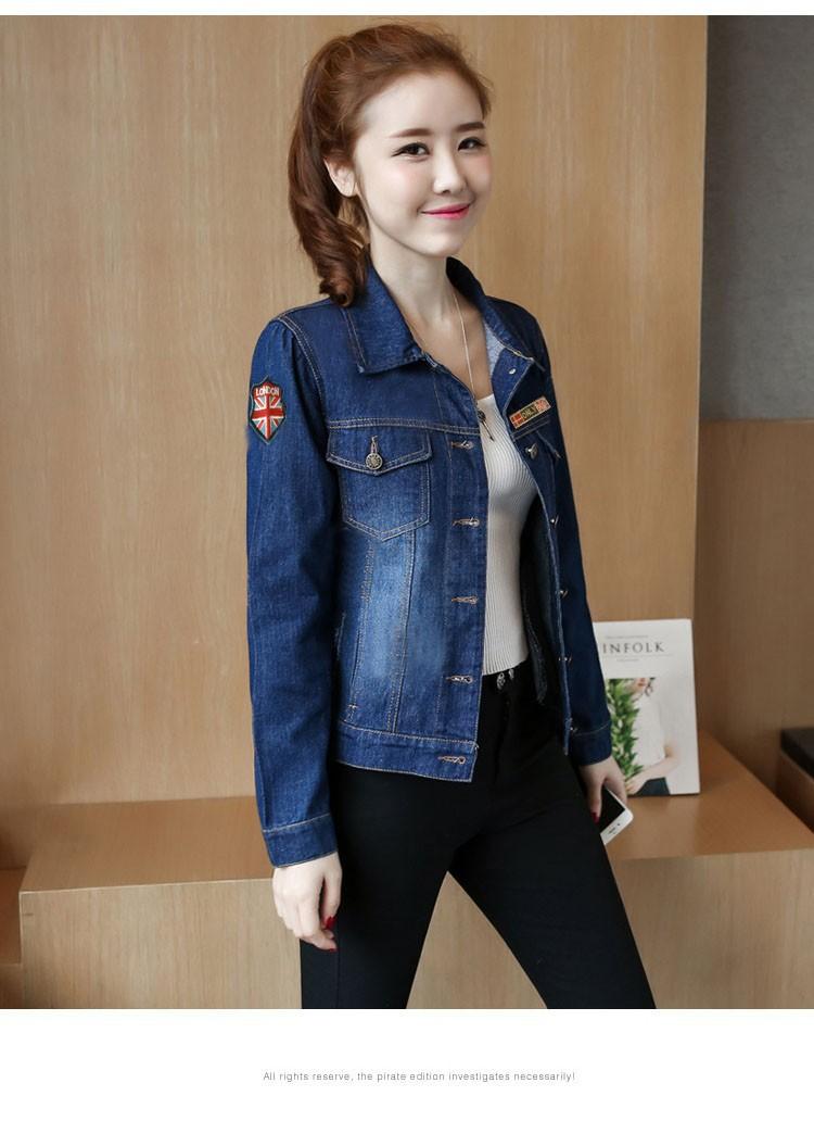 Áo khoác jean nữ cá tính cực xinh BY1068 4