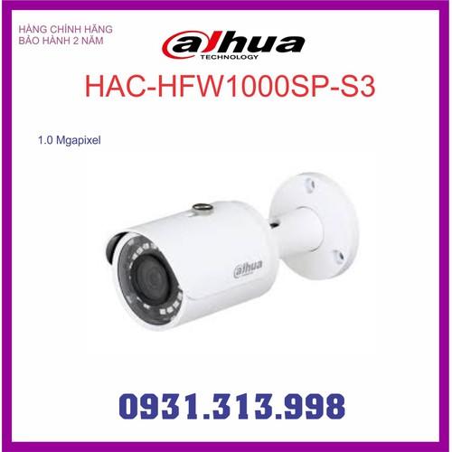Camera Dahua HAC-HFW1000SP-S3
