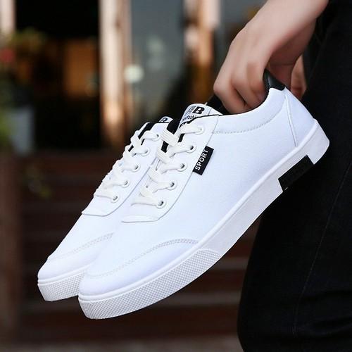 Giày thể thao nam trắng