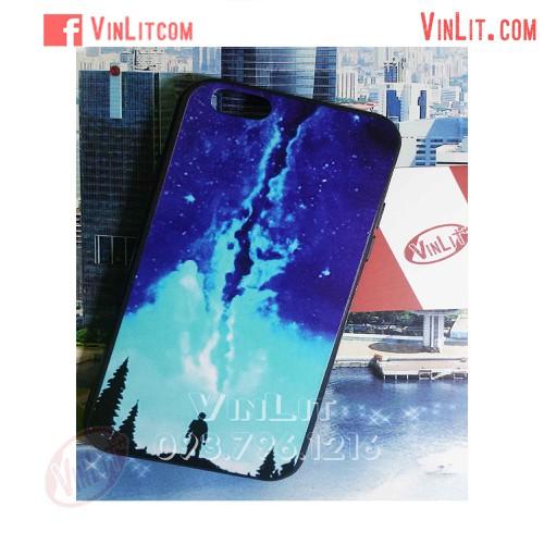 Ốp lưng Iphone 6 | 6s viền dẻo hình bầu trời