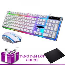 Bộ bàn phím và chuột G21 ĐEN chuyên Game Led Tặng miếng lót chuột